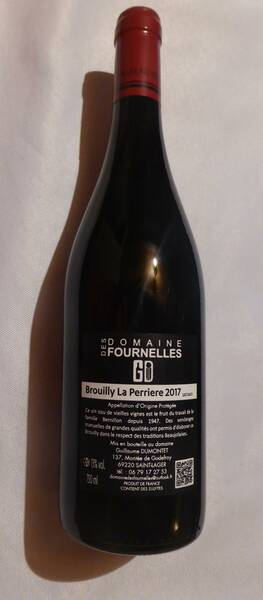 Domaine des Fournelles - BROUILLY Domaine des Fournelles