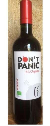 don't panic it's organic merlot