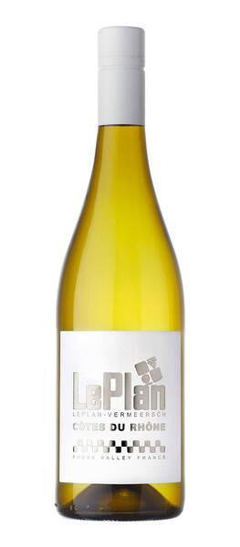 LePlan-Vermeersch - Côtes du Rhône Blanc