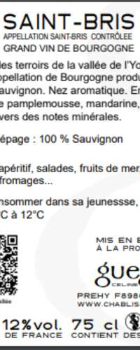 SAINT-BRIS Sauvignon