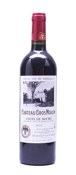 Château Gros Moulin - Côtes de Bourg 2012