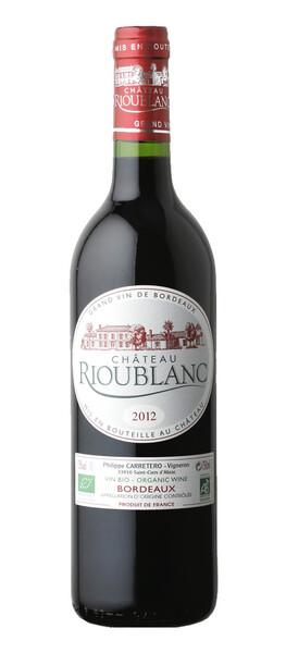 Château Rioublanc - Château Rioublanc Rouge BIO 2012