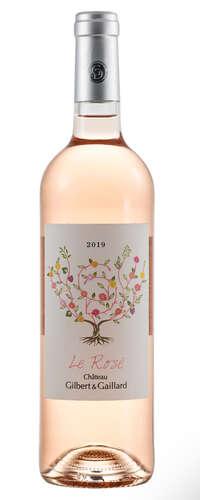 le rosé du château gilbert & gaillard