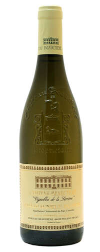 châteauneuf du pape vignobles de la serriere