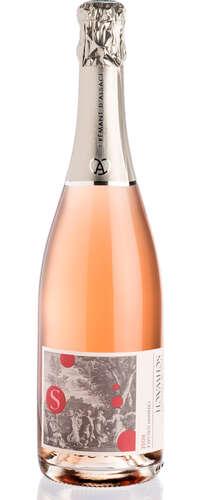 bulles de fête crémant rosé extra-brut - sans sulfites ajoutés