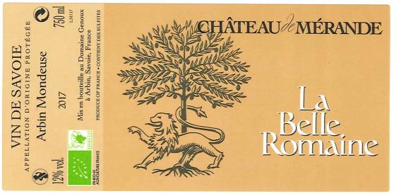 Château de Mérande - La Belle Romaine