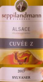Seppi Landmann - Alsace Cuvée Z Sylvaner Sec