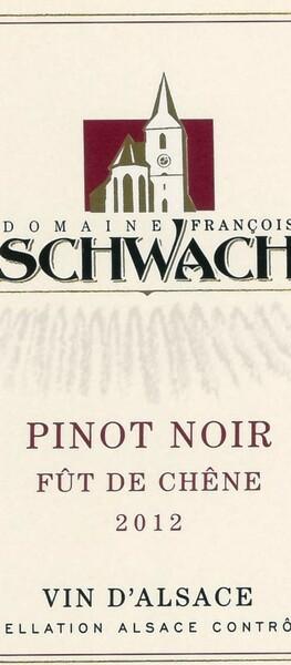 Domaine François Schwach - Pinot Noir Fût de Chêne