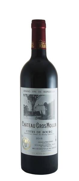 Château Gros Moulin - Côtes de Bourg 2016