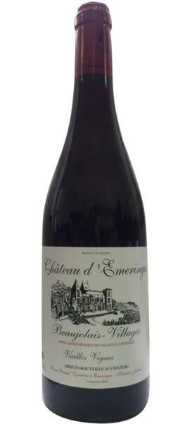 Vignoble beaujolais chateau