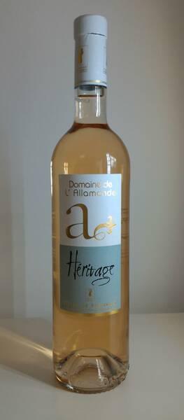 Domaine de l'Allamande - Héritage Rosé
