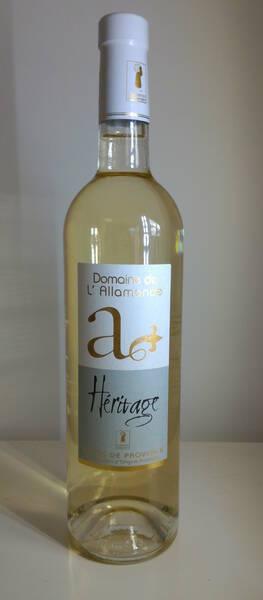Domaine de l'Allamande - Héritage Blanc