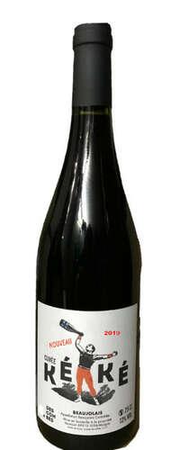 cuvée kéké - beaujolais nouveau (livraison à partir du 19/11)