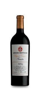 Legend vintage rivesaltes 1974 vin rouge Gerard Bertrand