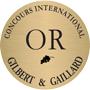 Médaille d'or au concours international Gilbert & Gaillard