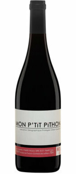Domaine Olivier Pithon - Mon p'tit Pithon Rouge