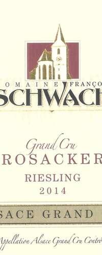 riesling grand cru rosacker