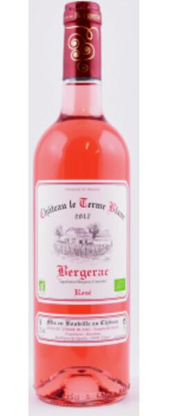 Château Le Terme Blanc - Bergerac rosé BIO
