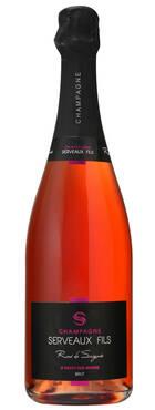 Champagne Serveaux Fils - Rosé de Saignée