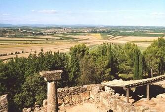 Site historique de l'oppidum d'Ensérune au Domaine Vila Voltaire