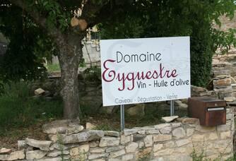 L'entrée du Domaine Eygyestre