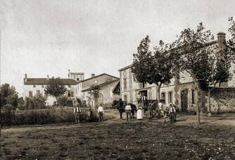 Photo d'époque du Domaine La Casenove