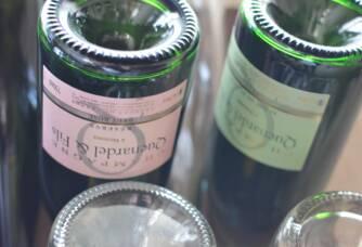 Bouteilles de Champagne Quenardel & Fils