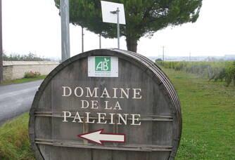 L'entrée du Domaine de la Paleine