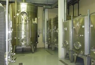 Les cuves du domaine Champagne Boulachin Chaput