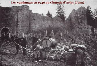 Photo d'archives du Château d'Arlay