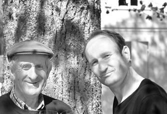 Hervé Lhuillier et son père