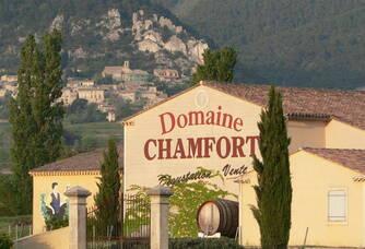 Entrée du Domaine Chamfort