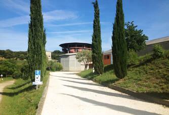Tour de vinification du Dôme d'Elyssas