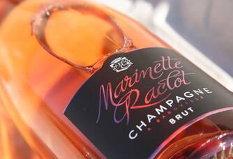Champagne Marinette raclot Brut Rosé