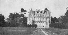 Photo d'époque du Château la Bastide