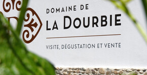 L'entrée du Domaine de la Dourbie