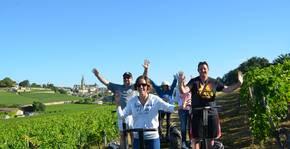 Balade dans les vignes du Château de la Renommée