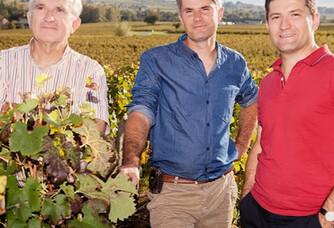 La famille Saby des Vignobles Saby