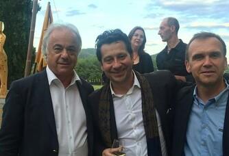 Laurent Gerra et Jean Pierre Arnaud le Cabanon des Césars