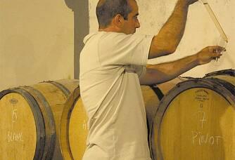 Laurent du domaine Champagne Biard-Loyaux