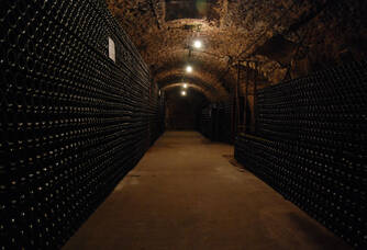 La cave du domaine Emile Leclere