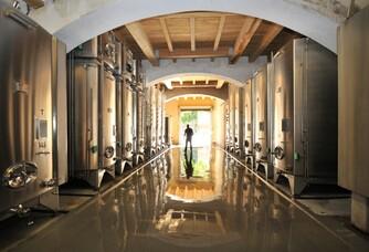 Calavon - La cave de vinification