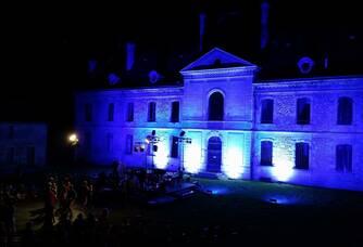 Concert nocturne au château Beyzac