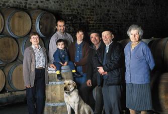 famille Bordenave en Jurançon