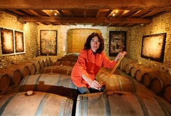 chai  Gisèle Bordenaveen vigneronne en Jurançon