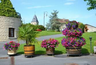 Champagne Robert-Allait - Les fleurs de la Maison Robert-Allait