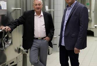 Champagne Robert-Allait - Régis et Aurélien