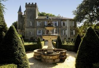 Château Capion - La fontaine du château