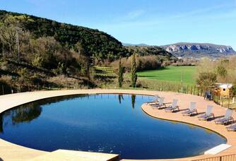 Domaine d'Anglas - La piscine naturelle