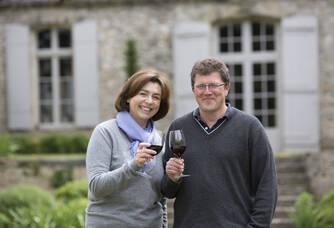 Dominique et Catherine Guffond du Château Le Sepe